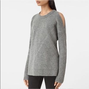 All Saints Terra Cold Shoulder Sweater